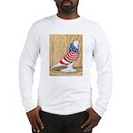 Patriotic West Pigeon2 Long Sleeve T-Shirt