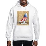 Patriotic West Pigeon2 Hooded Sweatshirt