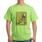 Patriotic West Pigeon2 Green T-Shirt