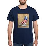 Patriotic West Pigeon2 Dark T-Shirt