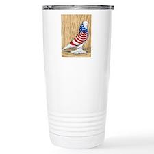 Patriotic West Pigeon2 Travel Mug