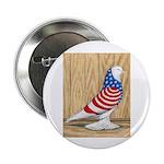 "Patriotic West Pigeon2 2.25"" Button (100 pack"