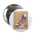 """Patriotic West Pigeon2 2.25"""" Button"""