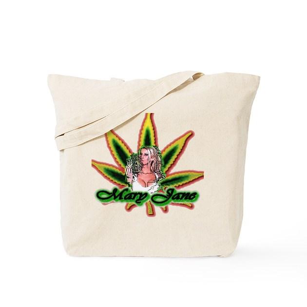 marijuana cannabis tote bag by realweartshirts