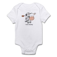 i love moomy Infant Bodysuit