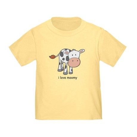 i love moomy Toddler T-Shirt