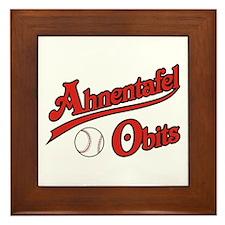 Ahnentafel Obits Framed Tile