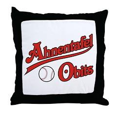 Ahnentafel Obits Throw Pillow