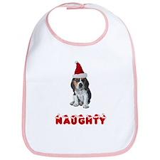Naughty Beagle Bib