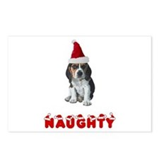 Naughty Beagle Postcards (Package of 8)