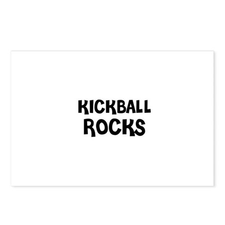 KICKBALL ROCKS Postcards (Package of 8)