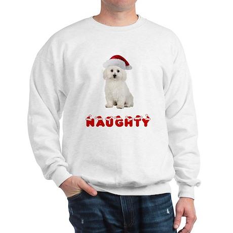 Naughty Bichon Frise Sweatshirt