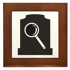 Grave Finder Framed Tile