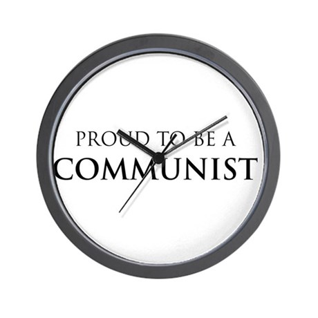 Proud Communist Wall Clock