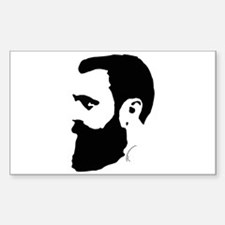 Herzl's Relevance Rectangle Sticker 10 pk)