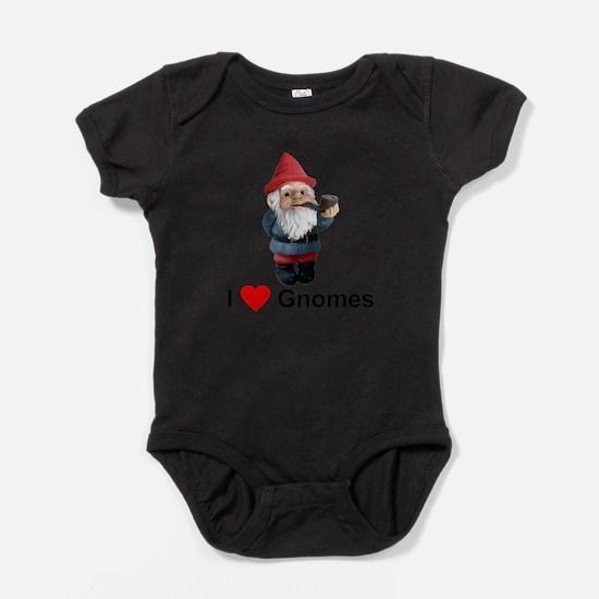 I Love Gnomes Body Suit