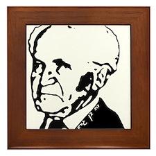 Ben Gurion Framed Tile