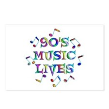 90s Music Postcards (Package of 8)