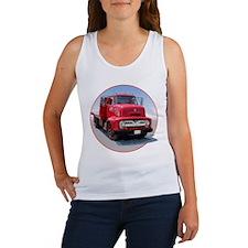 The Avenue Art Big Red Truck Women's Tank Top