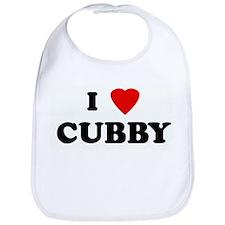 I Love CUBBY Bib