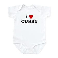 I Love CUBBY Infant Bodysuit
