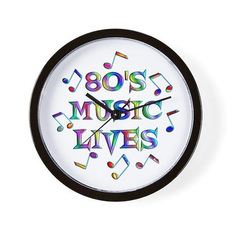 80's Music Wall Clock