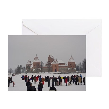 Trakai Castle Christmas Cards (Pk of 10)