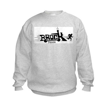 Brock Train Kids Sweatshirt