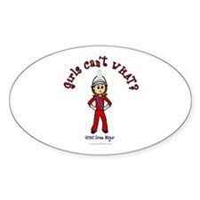 SCHS Drum Major Oval Decal