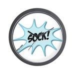 sock! Wall Clock