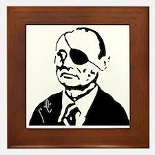 Funny Moshe Framed Tile