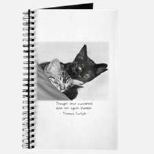 Thinking Cats-And-Quotes Journal