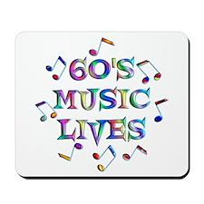 60s Music Mousepad