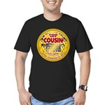 For My Cousin Men's Fitted T-Shirt (dark)