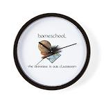Homeschool Universe Wall Clock
