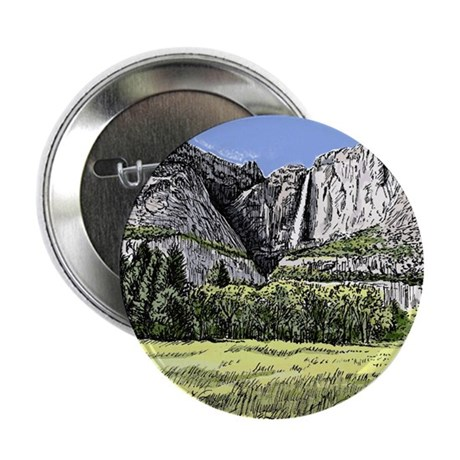 "Yosemite, CA 2.25"" Button (10 pack)"