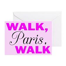 Walk Paris Walk Greeting Cards (Pk of 10)