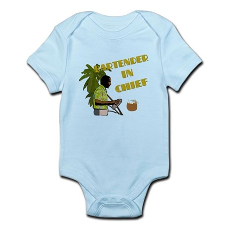 Obama Bartender in Chief Infant Bodysuit