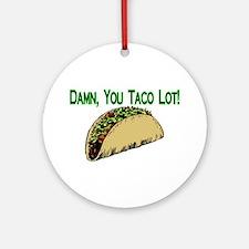 Taco Lot Ornament (Round)