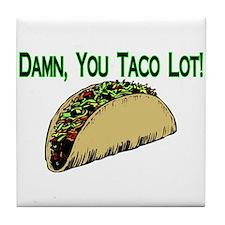 Taco Lot Tile Coaster