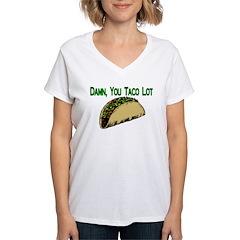 Taco Lot Women's V-Neck T-Shirt