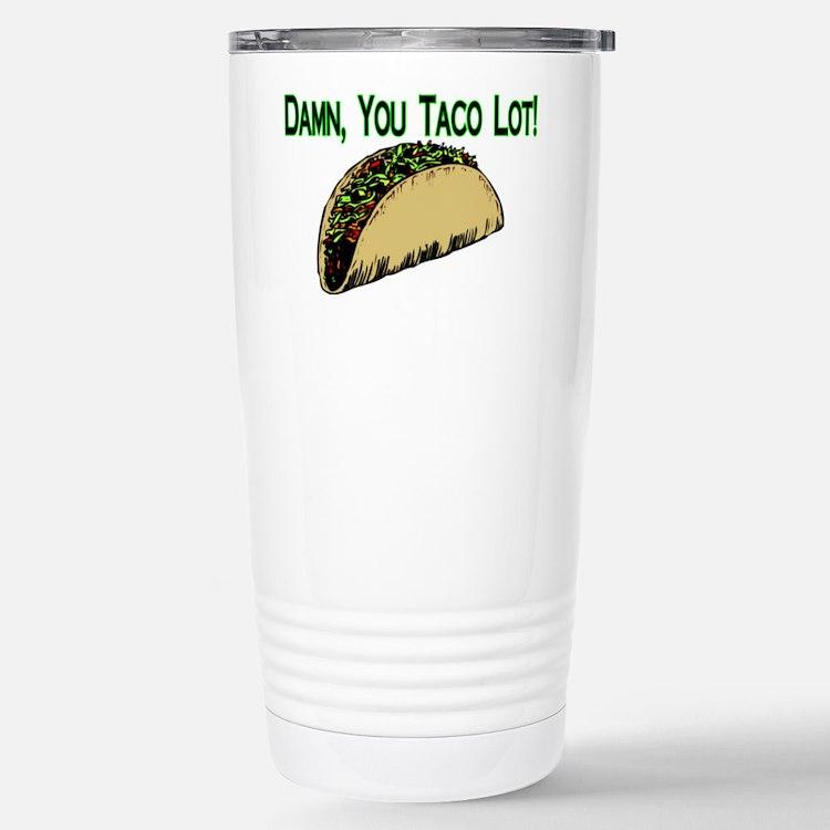 Taco Lot Stainless Steel Travel Mug