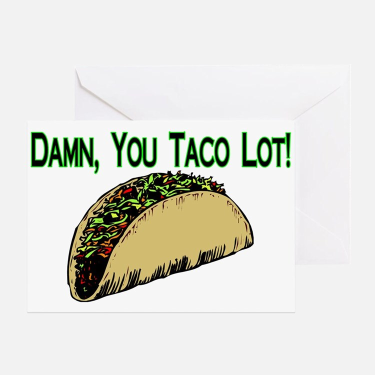 Taco Lot Greeting Card