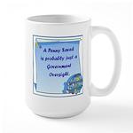Penny Saved Large Mug