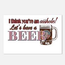 Let's Have a Beer Postcards (Package of 8)