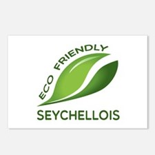 Eco Friendly Seychellois Postcards (Package of 8)