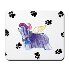 Gulliver's Angels Bearded Collie Mousepad