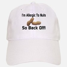 Allergic To Nuts Baseball Baseball Cap
