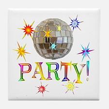Party Tile Coaster