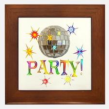 Party Framed Tile